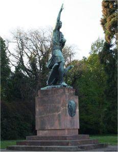 Görres Denkmal in Koblenz