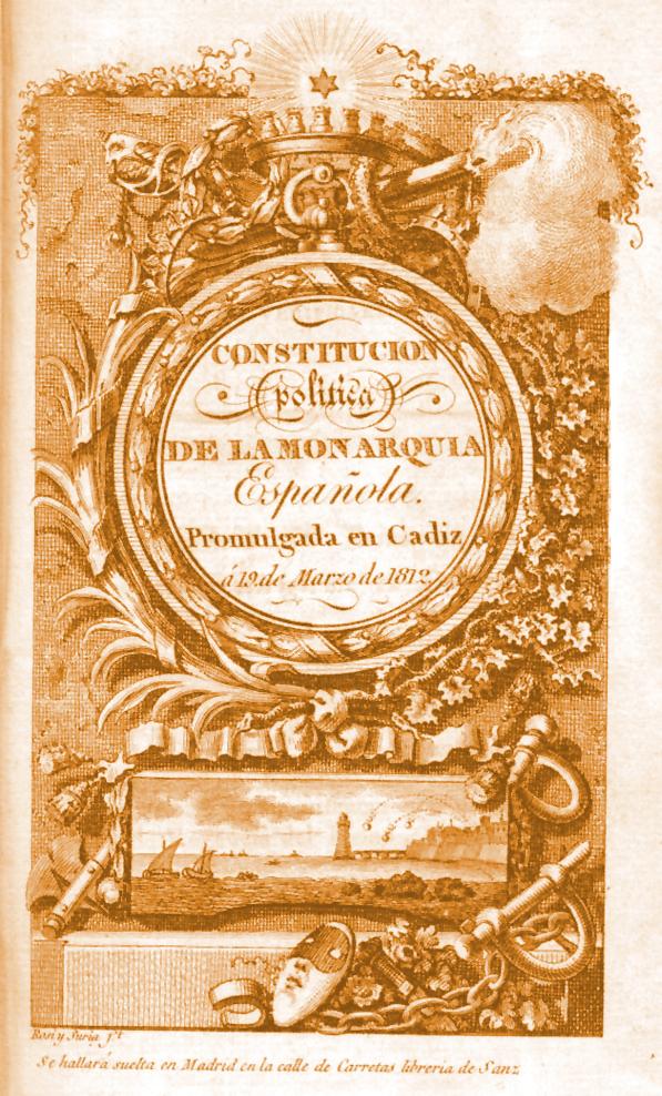 Constitución Cádiz 1812