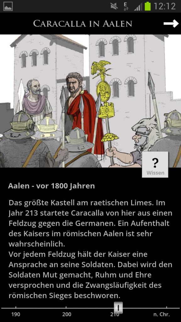 Caracalla in Aalen