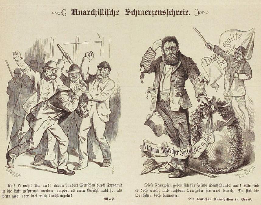 Kladderadatsch, 1. 3.1885, CC-BY-SA Heidelberger historische Bestände digital