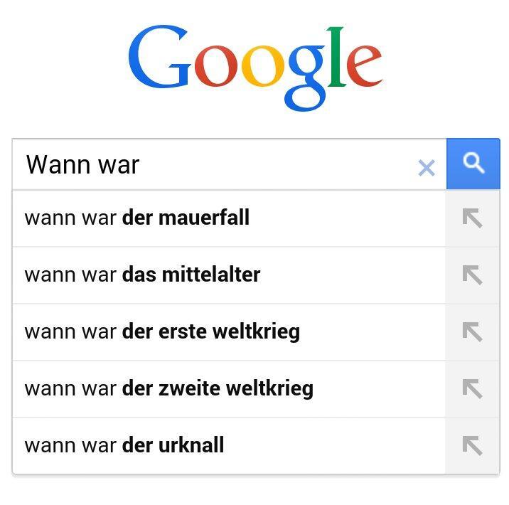 google wann war