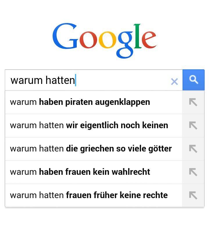 Google Warum hatten