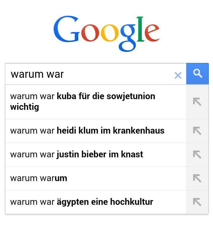 Google warum war