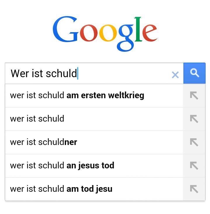 Google wer ist schuld