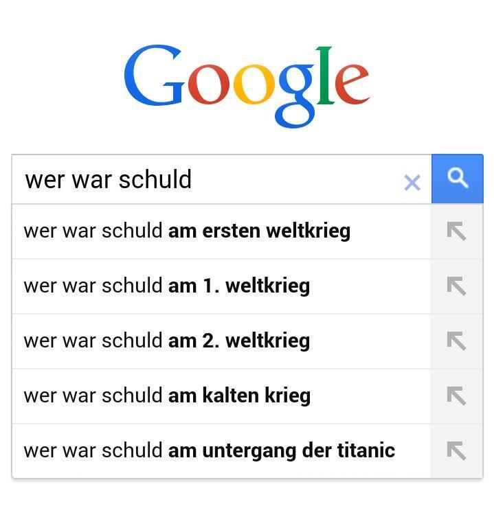 Google wer war schuld