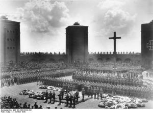 Beisetzung Hindenburgs am 7. August 1934, Foto: Bundesarchiv, Bild 183-2006-0429-502 / CC-BY-SA