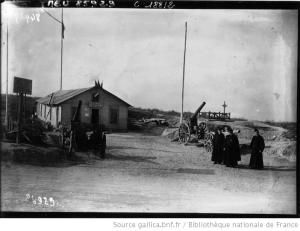 Provisorisches Beinhaus von Douaumont 1920-1927