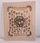 Ehrentafel für die Gefallenen und Kriegsteilnehmer des Weltkrieges der Gemeinde Lehesterdeich. Bild: Europeana 1914-1918. CC-BY-SA 3.0