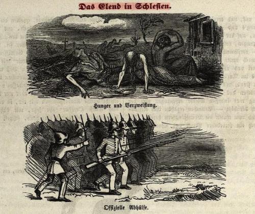 Elend Schlesien 1847