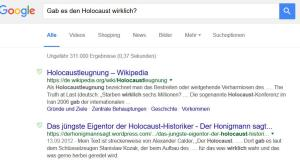 holocaust-google